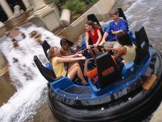 Roman Rapids Water Ride at Busch Gardens Williamsburg