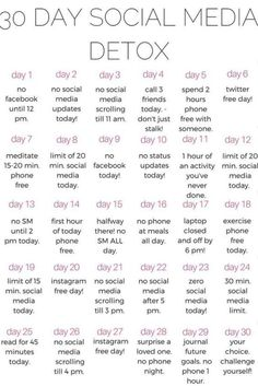 A healthy life: why you should do a 30 day social media DETOX - ka. year Fitness quotes why you should do a 30 day social media DETOX - kalein it 30 Day Challenge List, Detox Challenge, Body Challenge, Challenge Accepted, Challenge Quotes, Happiness Challenge, Monthly Challenge, Day List, Health Challenge