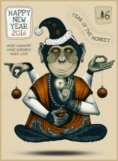 HAPPY NEW YEAR 2016 | poster on Behance