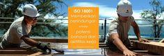 Konsultan ISO 18001 Sistem Manajemen Kesehatan dan Keselamatan Kerja K3
