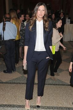 Jenna Lyons | 10 Women Who Could Teach Guys A Thing Or Two About Wearing A Suit