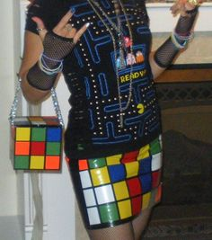 80s-game-fashion - awesome! I think we might have to do an 80s theme next year just, so we can rock this look!