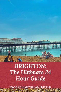 There is tonnes to do in Brighton, so why not plan your next trip with this ultimate guide! Seaside Resort, Seaside Towns, Canterbury Tales, Brighton And Hove, Pebble Beach, Great Places, Night Life, Places To Visit, Alice