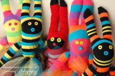Anatomy of a Sock Bunny - Find out how to make these adorable Sock Bunnies!