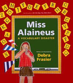 Miss Alaineus: A Vocabulary Disaster...plans for Vocabulary Parade