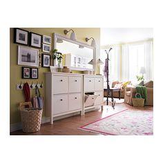 HEMNES Espelho - branco - IKEA