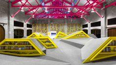 Library Playground, Monterrey Mexico, Anagrama, 2013