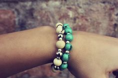 Items similar to Acai Seed Stretch Stackable Bracelets - Teal/Turquoise and Beige on Etsy Teal, Turquoise, Stackable Bracelets, Stretches, I Shop, Seeds, Delicate, Beige, Shopping