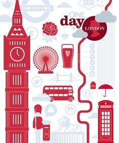 London illustration by Henrique Foca.