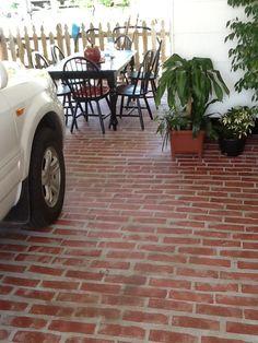Perfect FAUX BRICK On CONCRETE PATIO FLOOR | Garden U0026 Yard Ideas | Pinterest |  Floors, Concrete Patios And Patio