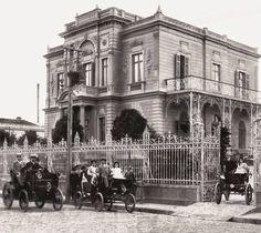 Casarão da Família Santos Dumont, atual Museu de Energia e Fundação Energia e Saneamento, na década 1900.