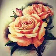 Chronic Ink Tattoo - Toronto Tattoo Rose design by Janice.