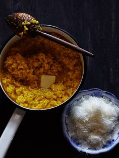 fattaincasa: Risotto Milanese serves 2-4 with leftovers for arancini