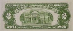Monticello – Wikipédia, a enciclopédia livre Old Coins Worth Money, Old Money, 2 Dollar Bill, Valuable Coins, Two Dollars, Legal Tender, Coin Worth, Coin Collecting, Two By Two