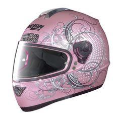 Nolan N63 Wing Pearl Pink