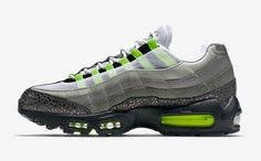 Cheap Nike Air Max 95 Green Grey Black White,www.freerundistance.com