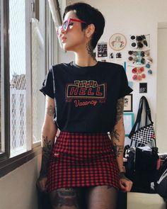 Fashion style edgy punk grunge outfits 19 ideas for 2019 Fashion 90s, Grunge Fashion, Unique Fashion, Street Fashion, Womens Fashion, Fashion Fall, Fashion Boots, Fashion Rings, Fashion Black