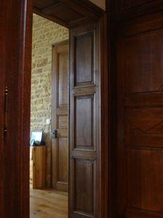 Fabrication Artisanale à Lancienne De Portes Intérieure Chêne - Porte placard coulissante et fabricant porte intérieure bois