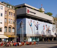 Breuninger in Stuttgart, Germany - great for shopping brands like Agent Provocateur, Boss Orange, Burberry, 7 for all mankind, von Follies, etc