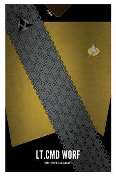 Star Trek TNG, Worf