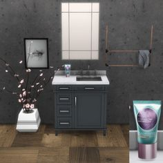Bath Set at Leo Sims • Sims 4 Updates