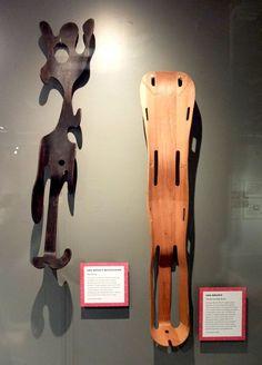 Ray #Eames splint sculpture and Eames leg splint