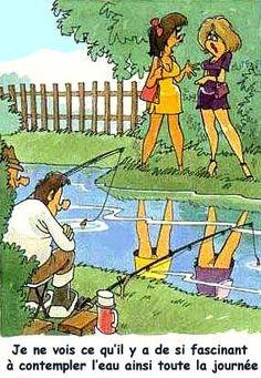 Humour pour adultes sur la pêche