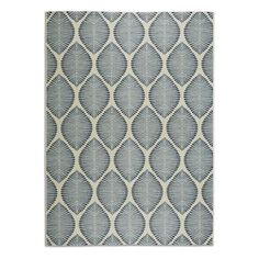 Abstract Leaf Outdoor Rug