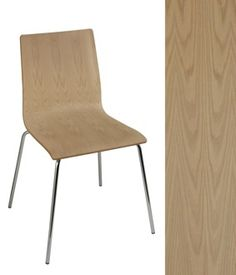 Firenze Chair at Richelieu Hardware (unfinished white oak flat cut). $100 ea. For opt rooms and/or staff room.