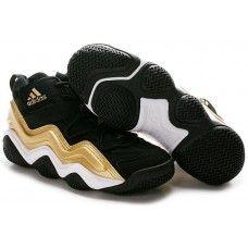 Adidas Top Ten 2000 (Kobe Bryant Retro Shoes) black/white-gold