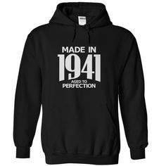 Made in 1941 - Aged ᗐ to PerfectionFind all years here https://www.sunfrog.com/Stephen/Aged-To-Perfection - Visit here for other designs https://www.sunfrog.com/Stephenbirth year, birthyear