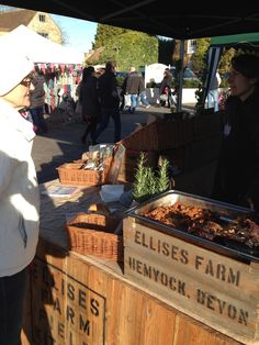 Ellises Farm at Blackdown Hills Market at Castle Green, Taunton