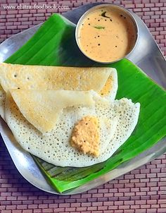 Soft dosa recipe that stays soft for long hours to pack in lunch box and travel. This dosa batter is prepared using raw rice and urad dal. Lunch Box Recipes, Veg Recipes, Indian Food Recipes, Cooking Recipes, Healthy Recipes, Healthy Food, Dosa Batter Recipe, Dosa Recipe, Veggie Snacks