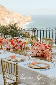 Wedding coordination Cabo | Linens, things and more...
