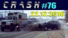 Жесткие ДТП и Аварии / Hard Crash #76 Декабрь 2016 || CRASH