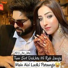 Jodi Jamegi Duniya Jalegi🔥 Follow @i_for_ishq Muslim Love Quotes, Urdu Poetry Romantic, Broken Heart Quotes, Heartbroken Quotes, Follow Me, Instagram Story, Writer, Feelings, Guys