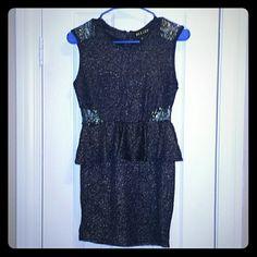 Velzer Peplum Club Dress