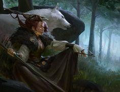 ArtStation - Woods Witch, Even Amundsen