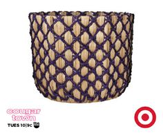 """Nate Berkus at Target   Seagrass """"X"""" Weave Basket   $27.99"""