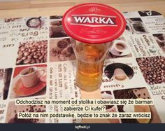 Kufel w barze - pomysły, triki, sposoby, lifehacki, porady Soap, Bottle, Flask, Soaps