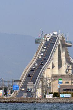 The Eshima Ohashi Bridge In Japan Looks Absolutely Terrifying