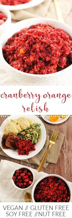 Cranberry Orange Rel