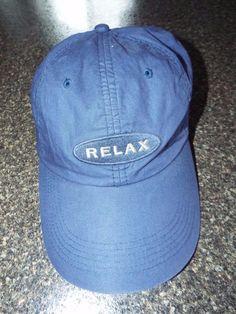 Tommy Bahama Relax baseball cap hat 100% cotton one size Adjustable back #Tommybahama #BaseballCap