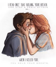 I know this is Stiles and Lydia off Teen Wolf. Bit it also really looks like Finn and D.