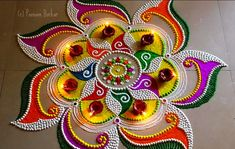 Latest Best Award Winning Rangoli Designs for Diwali with Diya & Flower Themes for Competitions, Simple Easy Deepavali Rangoli Patterns, Beautiful HD Images Simple Rangoli Designs Images, Rangoli Designs Latest, Rangoli Designs Flower, Rangoli Border Designs, Rangoli Designs With Dots, Rangoli Designs Diwali, Flower Rangoli, Beautiful Rangoli Designs, Mehndi Designs