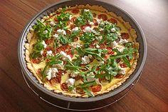 Tomaten-Tarte mit Ziegenkäse