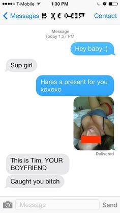 Getting caught in a sexting fails is literally the worst thing EVER!