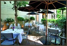 Patio lunches