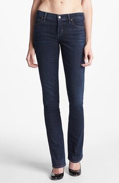 The best straight leg jeans EVER!  Citizens of Humanity 'Ava' Straight Leg Jeans (Celestial)