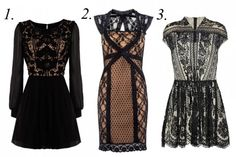 lace clothes.. yummm